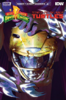 Mighty Morphin' Power Rangers/Teenage Mutant Ninja Turtles #2 (of 5) - SECOND PRINT Variant Cover